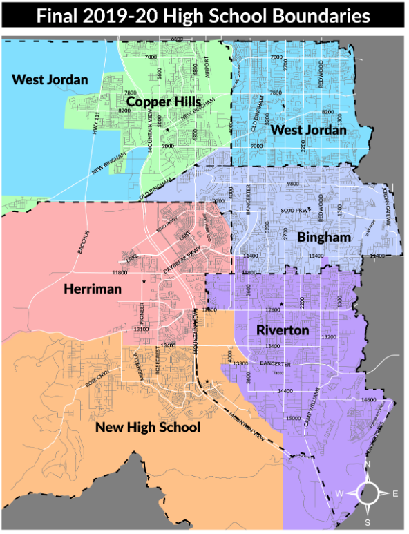 New Jordan District Boundaries!